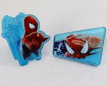 Spiderman Web-Slinger Rings, 144 Pack Cupcake Toppers, Two Designs, Party Favors