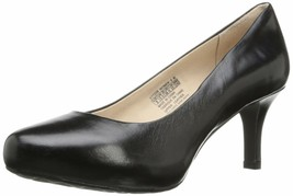 Rockport Women's Seven to 7 Pump 7.5 Wide Pebbled Leather Black - $54.30