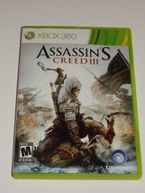 Assassin's Creed III (Microsoft Xbox 360, 2012)  **COMPLETE** - $9.89