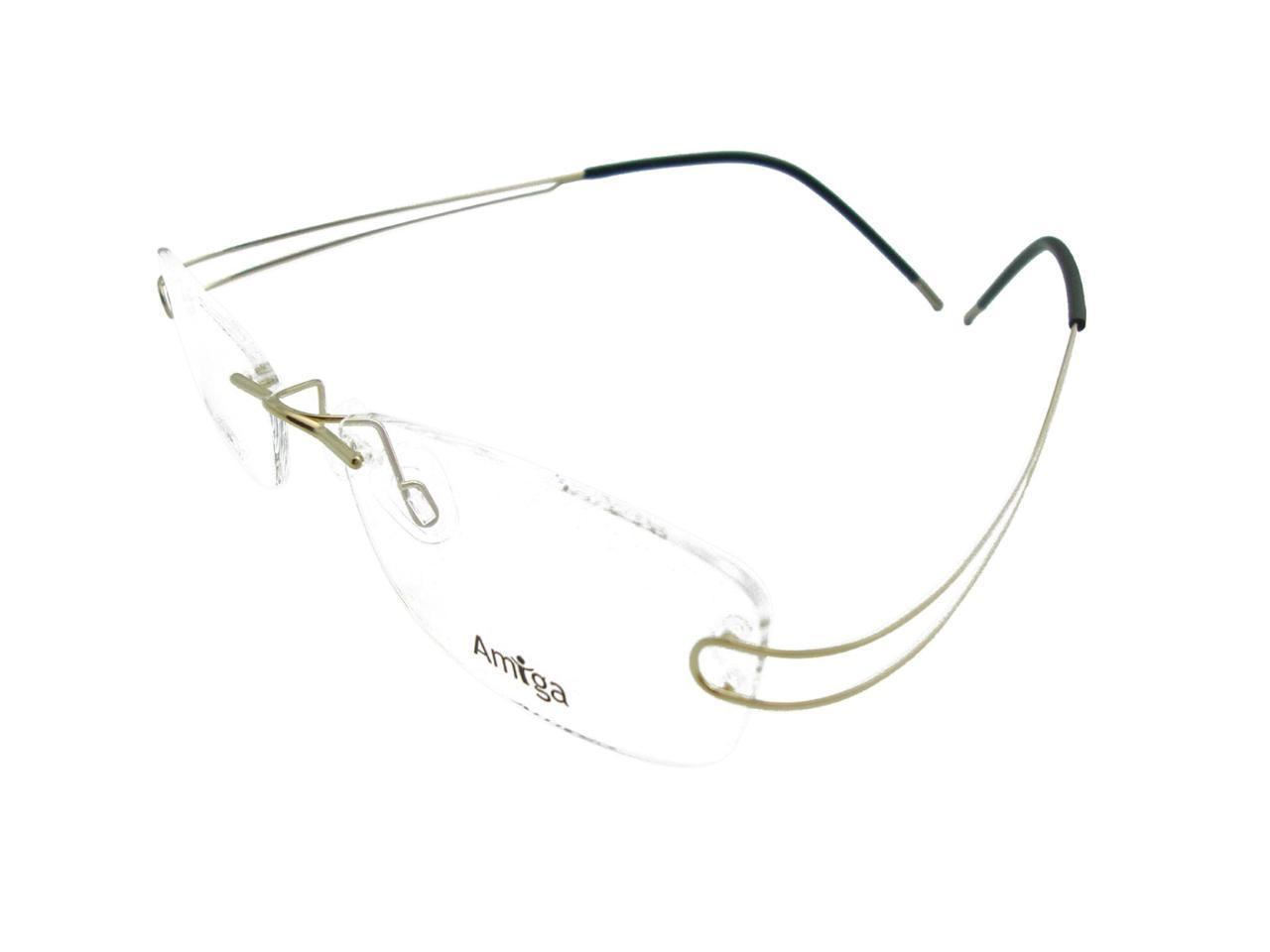Luxury Mens Rimless Titanium Glasses Frames Eyeglasses ...
