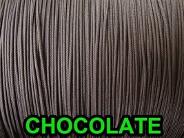 60 FEET: 1.6 MM CHOCOLATE LIFT CORD for Blinds, Roman Shades and More - $14.84