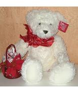 1/2 Price! Russ Berrie White Plush Bear Willow New w Tag - $7.00