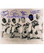 MERLIN OLSEN ROSEY GRIER LUNDY JONES AUTOGRAPHED SIGNED 8x10 RP PHOTO LA... - $16.99