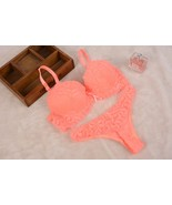 SEXY PUSH up GEORGIA PEACH bra and panty sets lingerie womens underwear ... - $18.88