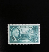 1945 1c Hyde Park Residence Home of Franklin D. Roosevelt Scott 930 Mint... - $0.99