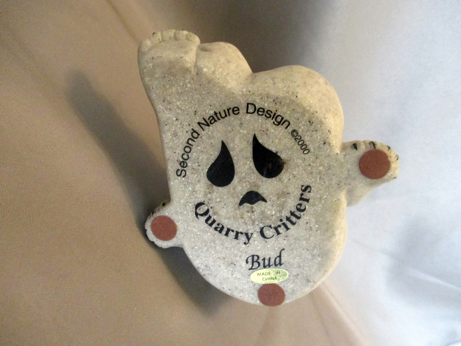 Bud the Bear, Quarry Critters Second Nature Design (2000) Collectible