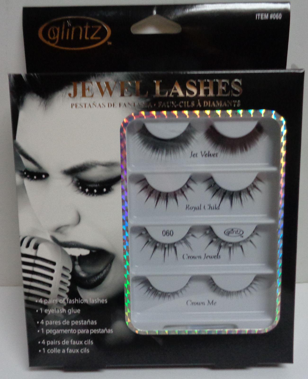 c2f2acaab53 Jewel. Jewel. Previous. GLINTZ FASHION JEWEL LASHES SET NIB CLUB PARTY 4  pairs & 1 eyelash glue. GLINTZ FASHION JEWEL LASHES ...
