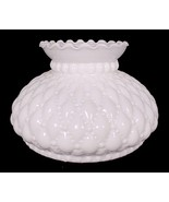 Milk Glass Diamond Quilted 6 in Student Lamp Sh... - $29.95