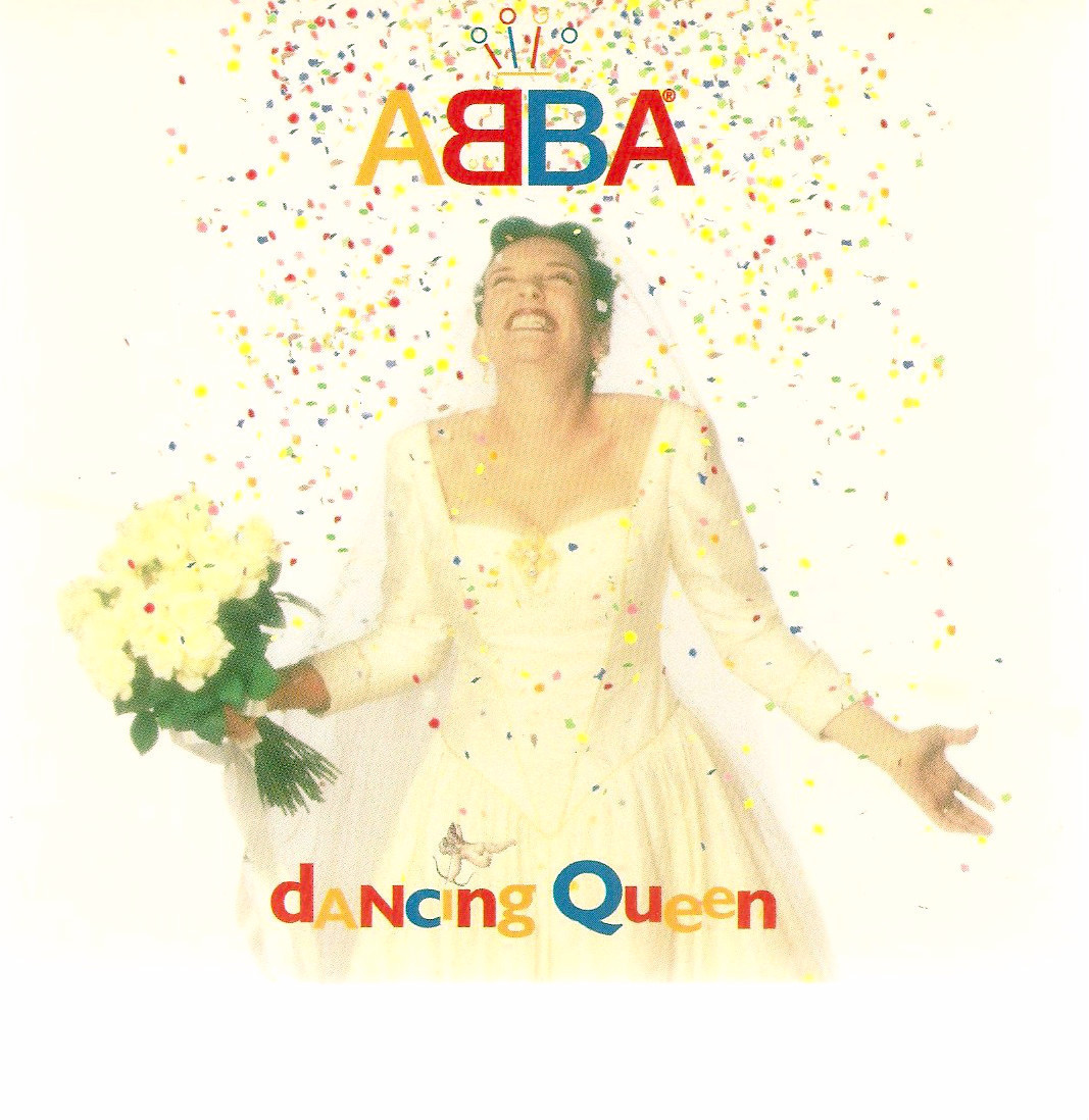 Abba Dancing Queen US promo CD single '95 Muriel's Wedding Toni Collette bridal