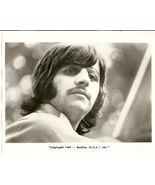 Beatles Fan Club B&W 8X10 Photo Ringo Starr '68 USA LTD - $16.27