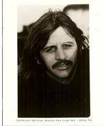 Beatles Fan Club B&W 8X10 Photo Ringo Starr in shadows - $16.27
