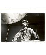 Beatles Fan Club B&W 8X10 Photo Ringo beneath cymbal  - $16.27