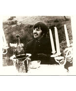 Beatles Fan Club B&W 8X10 Photo Ringo teacup candelabra - $16.27