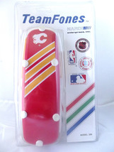 Vintage NHL Calgary Flames Telephone TeamFones Hockey Stanley Cup Button... - $38.11