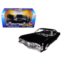 1967 Chevrolet Impala Black Lowrider Series Street Low 1/24 Diecast Mode... - $37.75