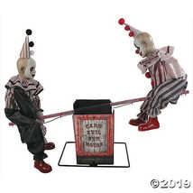 Animated See-Saw Clowns - $222.61