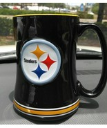 Pittsburgh Steelers Relief Mug Preowned - $17.99