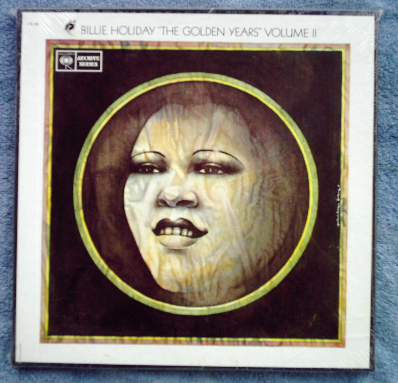Billie Holiday Golden Years volume II sealed box 3X LP cutout jazz Lester Young
