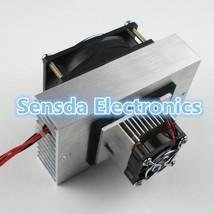 DIY Thermoelectric Peltier Refrigeration Cooling System Kit Cooler fan C12705 - $28.99