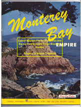 Vintage Guide Monterey Bay Empire Pacific Grove Fort Ord Hearst Castle B... - $59.99