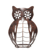 Yankee Candle Metal Owl Jar Candle Holder Online and Catalog Exclusive B... - $22.76