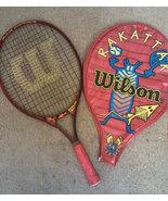 WiLSON OVrRSiZED RAKaTTAK 25 TiTANIUM racquet RAcKET & CASE  - $29.99