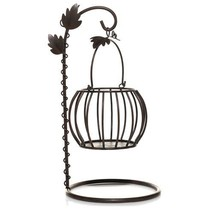 Yankee Candle Hanging Pumpkin Jar Candle Holder Fall Halloween Thanksgiving - £22.09 GBP