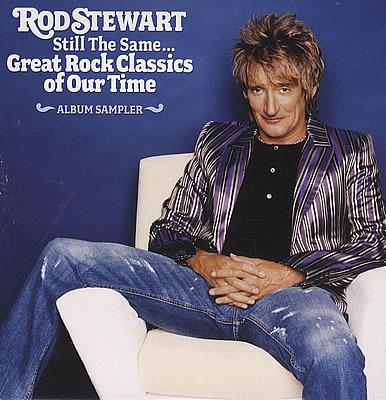 Rod Stewart Still the Same promo sampler CD