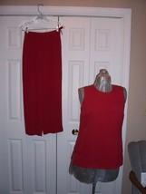 Talbots Petites Size 4 Pants Sleeveless Top - $14.99