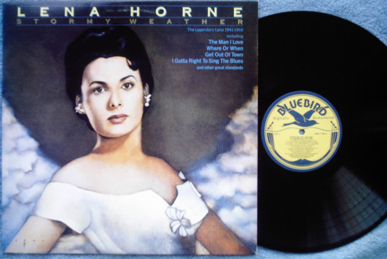 Stormy Weather Lena Horne nm LP Bluebird Charlie Barnet Artie Shaw big band jazz