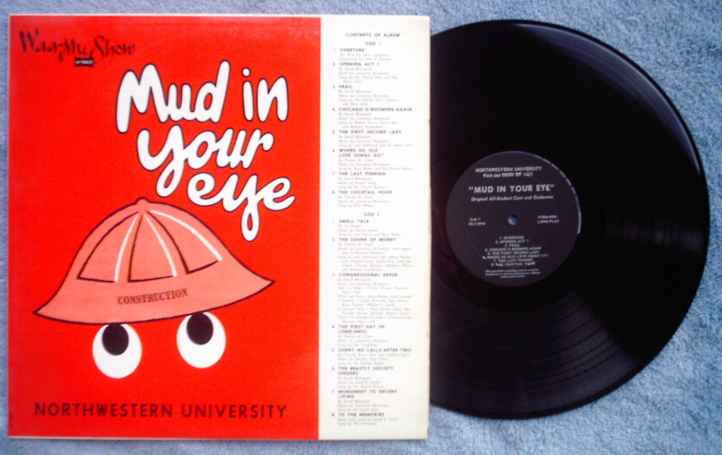 Waa-Mu Show 1963 LP Northwestern University U Mud In Your Eye student revue