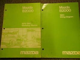 1980 Mazda B2000 Truck Service Repair Shop Manual Set Factory Oem Books 80 - $29.66