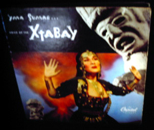 Yma Sumac Les Baxter Voice of the Xtabay 4X 78 rpm album exotica Peruvian 1950