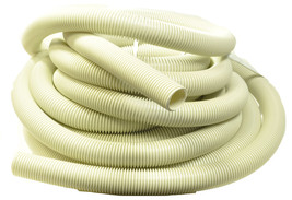 """Generic White Vacuum Cleaner Hose 50' 1 1/4"""" FA-41000 - $58.80"""