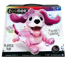 Zoomer Playful Pup Interactive Robotic Dog with Realistic Movement Sound... - $74.24