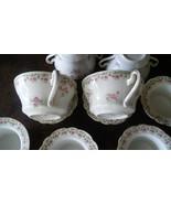 Vienna Austria Antique Porcelain 12 Pcs Set Cream Soup & Finger Bowls - $64.35