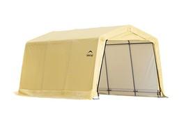 Shelter Logic 10X15x8 Auto Shelter Peak Style - Sandstone Cover  (model ... - $299.95