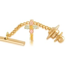 Gold Cross Tie Tack - $49.00
