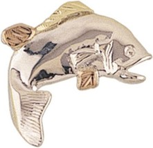 Sterling & Black Hills Gold Fish Tie Tack - $54.45