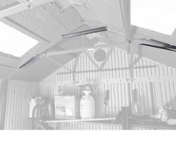 Lifetime Snow Load Kit for 8 ft shed (model 60045) - $38.95