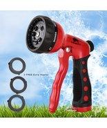 BEST Premium Durable Garden Hose Nozzle  Hand Sprayer Heavy Duty 8 Adjus... - $41.94