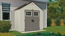 Suncast Sheds 206 CU. FT. TREMONT 8 X 4 STORAGE SHED (BMS8400) 2-PACK - $1,549.79