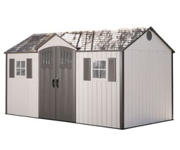 Lifetime 15x8 Garden Shed - Side Entry Shed with Vertical Siding (60138) - $1,999.95
