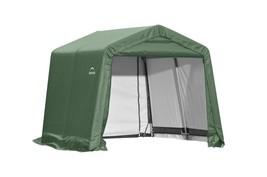 Shelter Logic 10x8x8 Peak Style Shelter - Green Cover (model 72804) - $395.95
