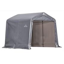 """ShelterLogic 8x8x8  Peak Style Shed, 1-3/8"""" Frame, Grey Cover (model 70423) - $245.95"""