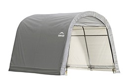 ShelterLogic 10x10x8 ft. / 3x3x2,4 m Round Style Shed,  Grey Cover (mode... - $299.95