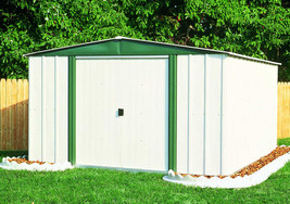 Arrow Sheds 8x6 Hamlet Metal Garden Storage Shed (HM86) - $429.99