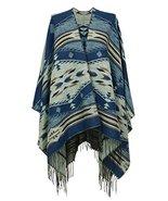 7 Seas Republic Women's Turqoise Tribal Style Tassel Wrap - $26.99