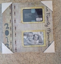 "Photo Frame Hanging Scrapbook Our Family Memories 11""  2 Openings 3.5"" x 5"" - $17.62"