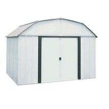Storage Shed Steel Building 10 x 8 Sliding Lockable Double Door Outdoor ... - $569.71